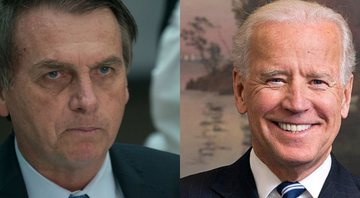 Jair Bolsonaro e Joe Biden - Getty Images / Wikimedia Commons