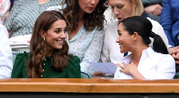 Meghan e Kate durante evento - Getty Images