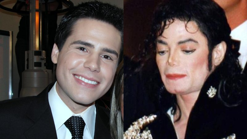 Fotografias de Luiz Bacci e Michael Jackson
