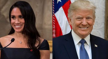 Meghan Markle e Donald Trump - Wikimedia Commons