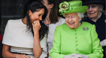 Meghan e Elizabeth II durante evento - Getty Images
