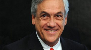 O presidente do Chile Sebastián Piñera - Wikimedia Commons