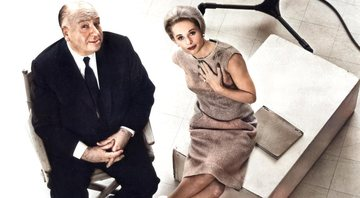 Alfred Hitchcock e Tippi Hedren - Wikimedia Commons
