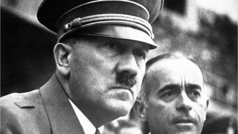 Retrato de Adolf Hitler