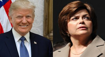 Donald Trump e Dilma Rousseff - Wikimedia Commons