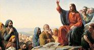 Sermão da Montanha, por Carl Bloch, século 19 - Wikimedia Commons