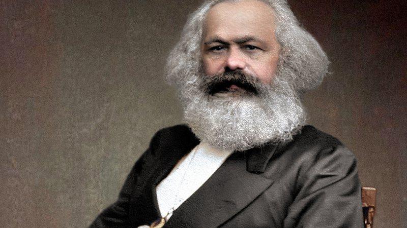 O teórico comunista Karl Marx
