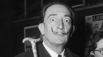 Salvador Dalí em Paris - Getty Images