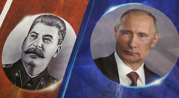Stalin e Putin - Getty Images