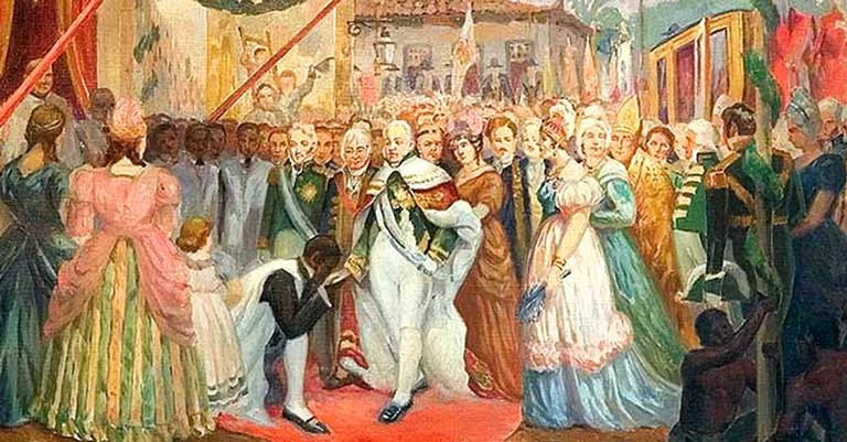 79e2dfa8d Aventuras na História · Há 211 anos, a família real portuguesa ...