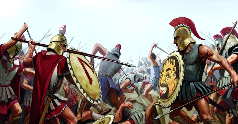Resultado de imagem para a guerra esparta