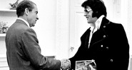 Elvis Presley visita o presidente Richard Nixon - Getty Images
