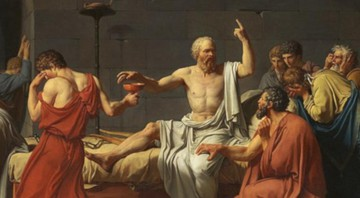 "A Obra Neoclássica de Jacques-Louis David, ""A morte de Socrates""(1787) - Wikimidia Commons"