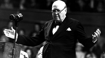 Winston Churchill, o primeiro ministro britânico - Getty Images
