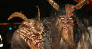 Krampus, o demônio com chifres e cascos - Getty Images