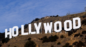 O famoso letreiro de Hollywood - Pixabay