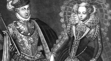 Mary Stuart e Lord Darnley, por Robert Dunkarton, 1816 - Getty Images