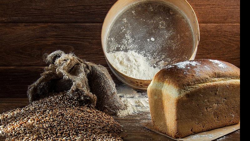 Pão e seus ingredientes