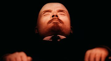 O corpo embalsamado de Lenin - Getty Images