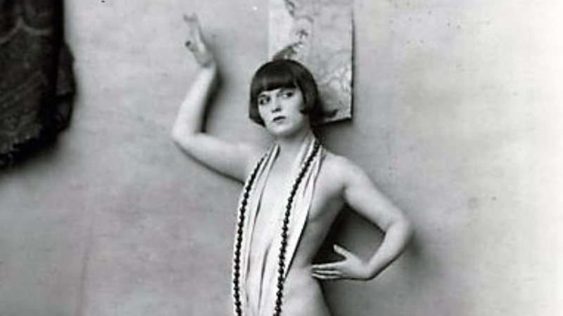 Atriz e modelo Louise Brooks