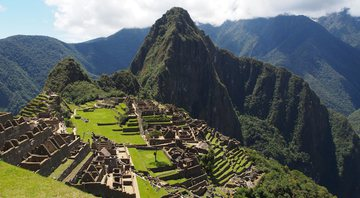 Vista ensolarada de Machu Picchu - Getty Images