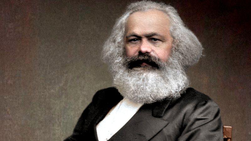 Marx em cores vivas