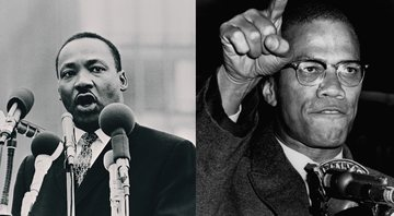 Martin Luther King e Malcoml X - Getty Images