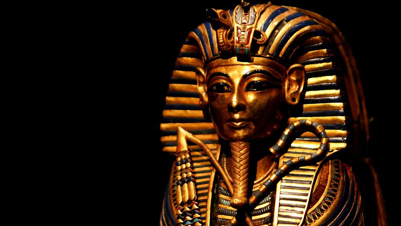 O impressionante sarcófago de Tutancâmon