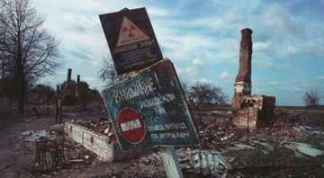 Restos do Acidente Nuclear de Chernobyl de 1986 - Wikimedia Commons