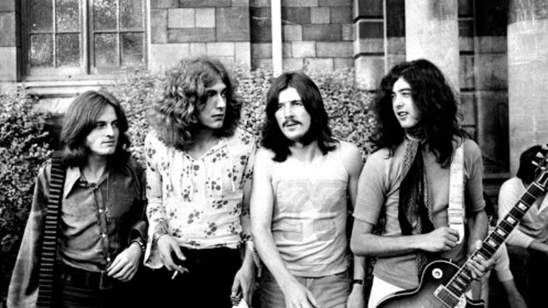 A banda Led Zeppelin