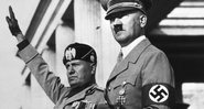 Benito Mussolini e Adolf Hitler - Getty Images