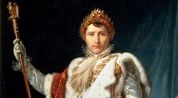 Retrato do Imperador Napoleão Bonaparte, 1804 - Getty Images