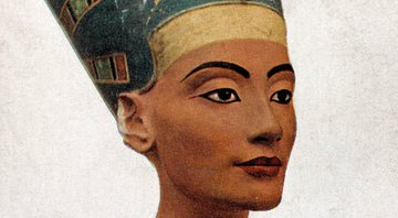 Representação do busto de Nefertiti - Getty Images