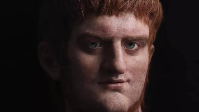 1b570f9e1 Aventuras na História · Veja a reconstrução facial do imperador ...