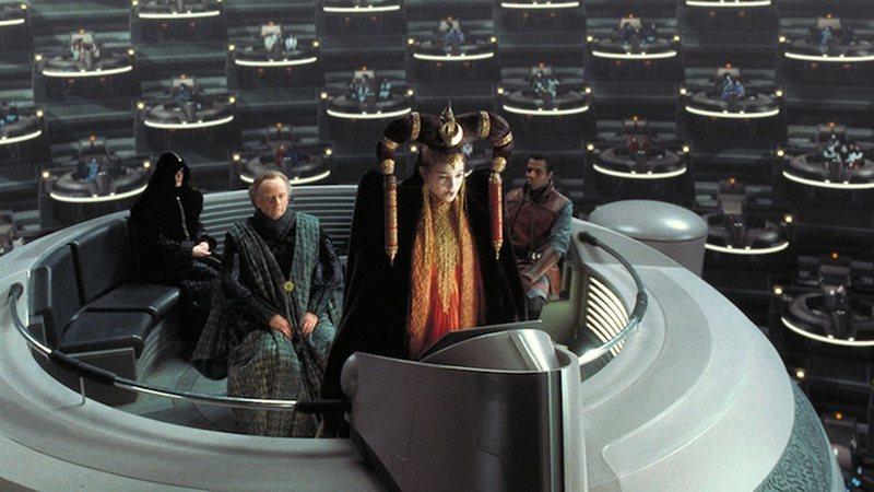 Padmé Amidala no Senado da República Galática