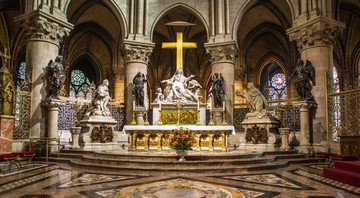 Altar-mor da Catedral de Notre-Dame - Getty Images