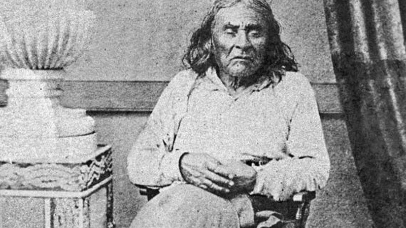 Cacique Seattle em 1860