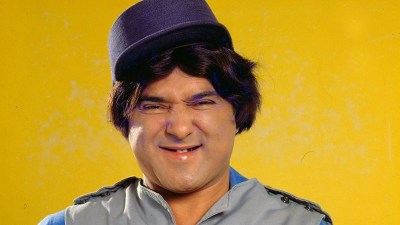 Fotografia de Mauro Gonçalves em seu papel de Zacarias
