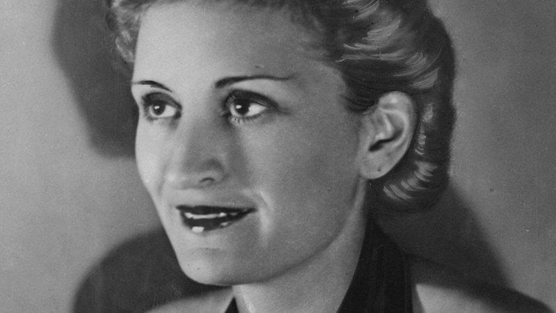 Fotografia de Edda Ciano, filha de Benito Mussolini