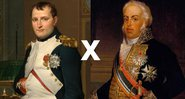 Napoleão e Dom João, respectivamente - Creative Commons