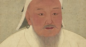 Retrato de Gengis Khan - Wikimedia Commons