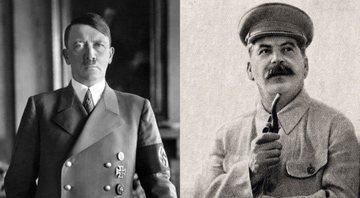 Hitler e Stalin, respectivamente - Creative Commons