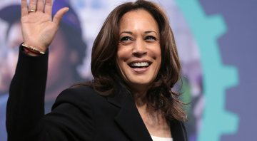 Kamala Harris em evento - Wikimedia Commons