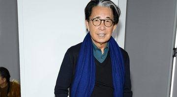 Kenzo durante o Fashion Week do ano passado - Getty Images