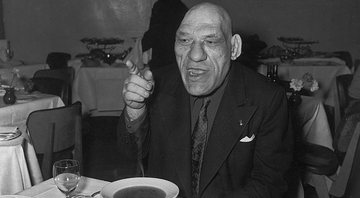 O lutador Maurice Tillet - Wikimedia Commons