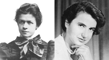Mileva Marić e Rosalind Franklin, respectivamente - Creative Commons