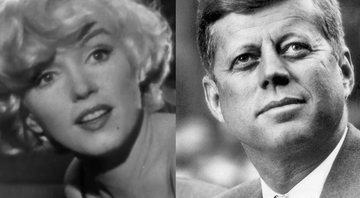 Marilyn Monroe (esq.) e John F. Kennedy (dir.) - Wikimedia Commons