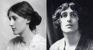 Virginia Woolf e Sackville-West, respectivamente - Creative Commons