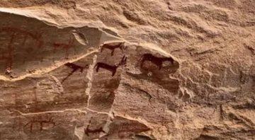 Aventuras Na Historia Sarcofago Com Desenho De Leopardo Guardiao