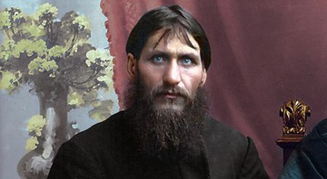 Grigori Rasputin, foto colorida artificialmente - klimbims / flickr